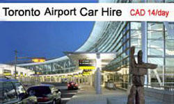 Toronto Airport Car Hire